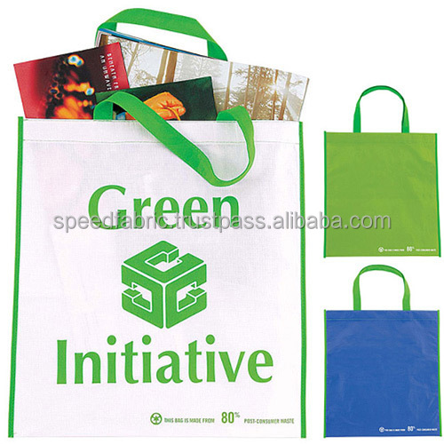 Custom Handled Style Non Woven Bag/wholesale new design promotional grocery tote non woven bag