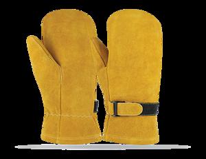 cow split leather Oven Mitten Gloves / Bakery Gloves