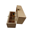 Rectangle pine wooden essential oil wood box
