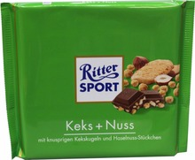 Ritter Sport Biscuit + Nuts 250g