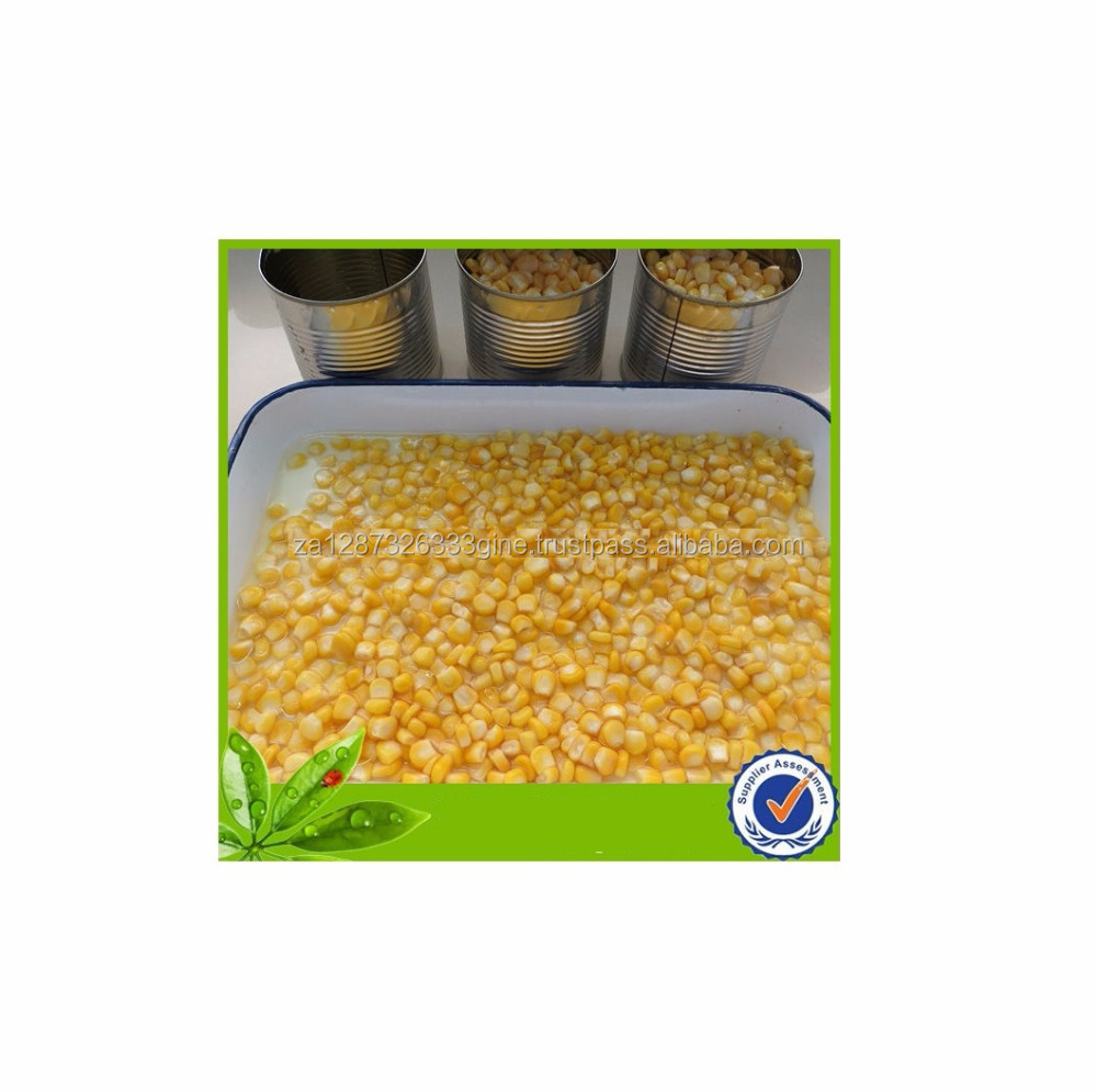 Grade A 340g Best price Canned Sweet Corn manufacturer for sale