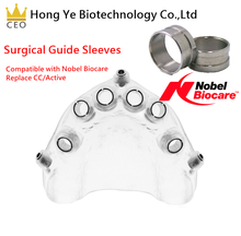 Compatible Nobel Biocare surgical guide sleeve(Replace CC/Active)