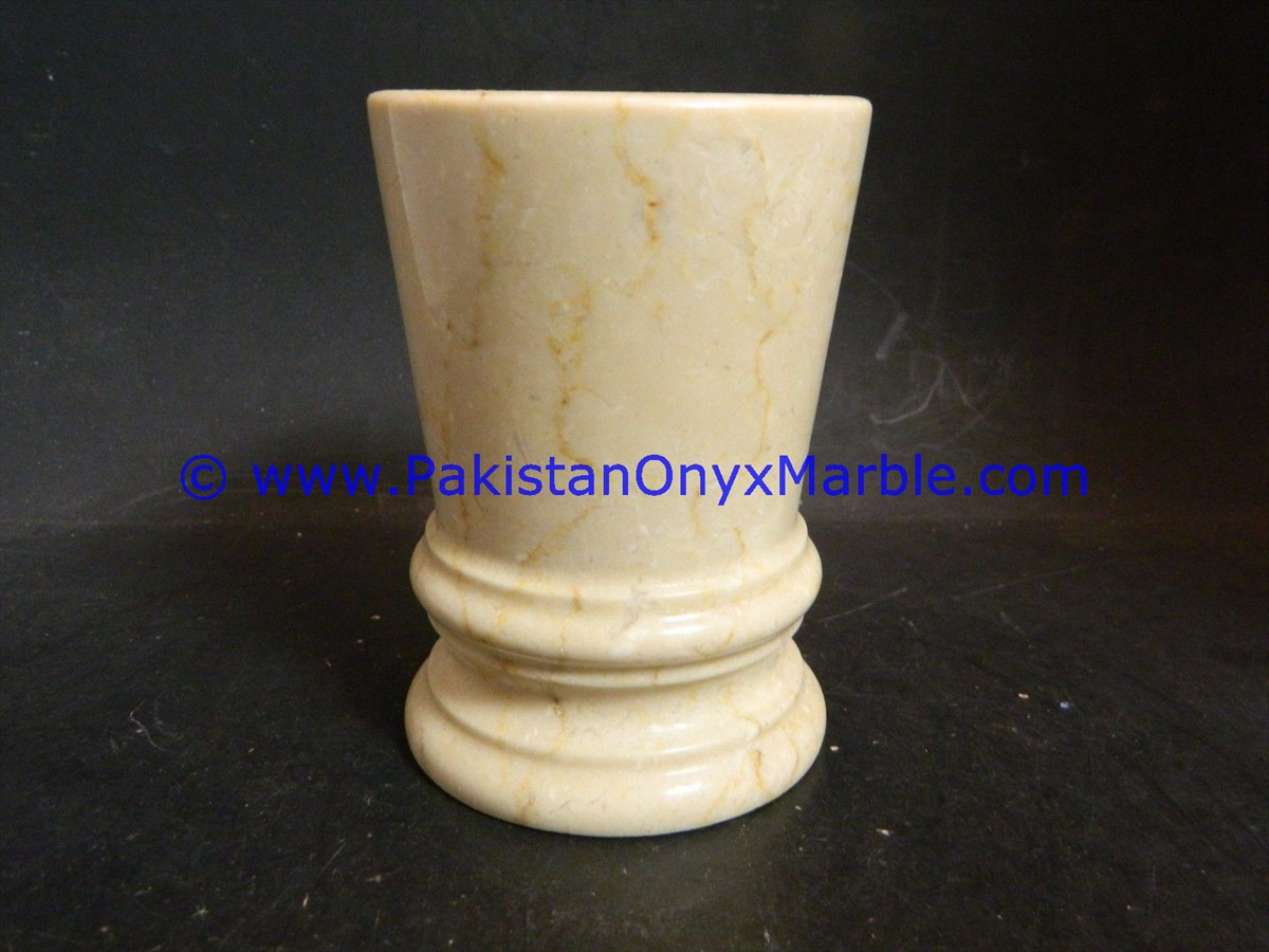 HIGH QUALITY BEST PRICE MARBLE ICE CREAM CUPS HANDICRAFTS