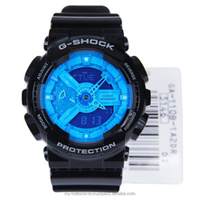 GA-110B-1A2 Black Blue Shock Resistant Watch