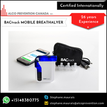 Mobile Phone Digital Breath Alcohol Tester with Micro USB Port