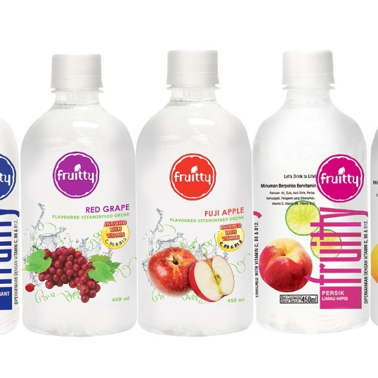 Malaysia Quality Export OEM ODM Private Label 6 Different Flavor PET Bottle Fruity Vitaminized Drink 300ml