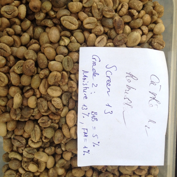 COMPETITIVE PRICE OF GREEN COFFEE BEAN VIETNAM