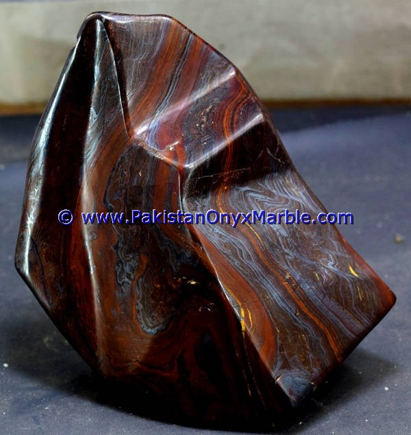 MULTI COLOR IRON TIGERS EYE TUMBLED NATURAL STONE POLISHED