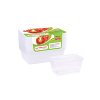 Salad or soup Disposable plastic fast food box food packing takeaway containers