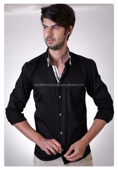Black Design, Dress shirt Slim fit shirt, slim-fit shirt, Dress shirt, Shirt, men shirt,