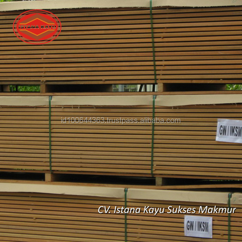 Best Quality MAHOGANY Wood Floor Decking for Garden Decor