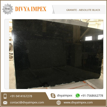 High Quality Indian Absolute Black Granite