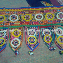 Door Hanging Bandhanwar Toran with Embroidery and Sequins Work