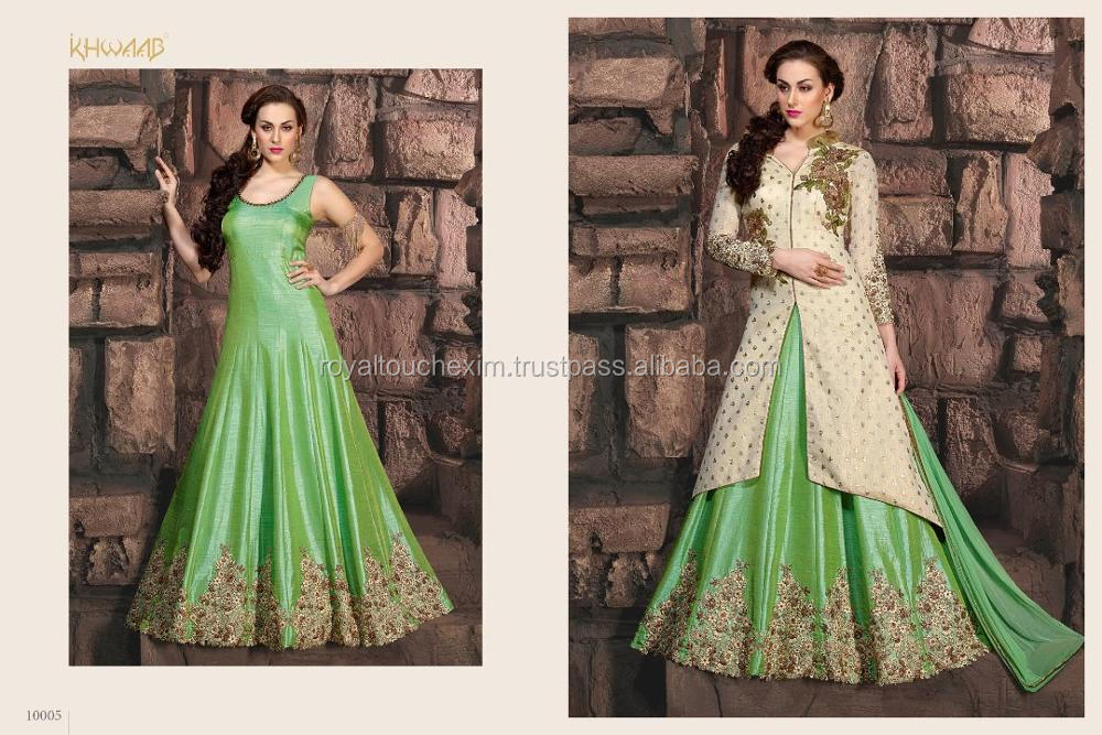 latest indian party wear anarkali suits dresses latest collection salwar kameez cutting