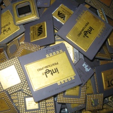 Intel 386 and Intel 486 Scrap Ceramic CPU