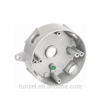 "4"" Aluminum electrical round extension ring box by Chinese supplier"