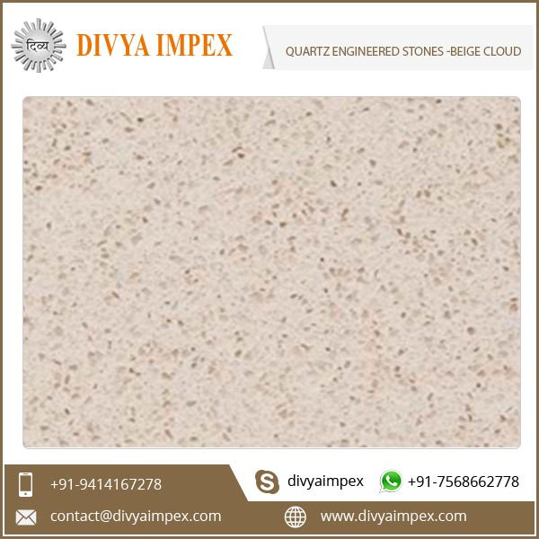 Artificial Non Porous Quartz Engineered Stone for Countertops