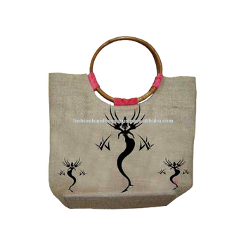 New Designer Wooden Handle Attractive bags