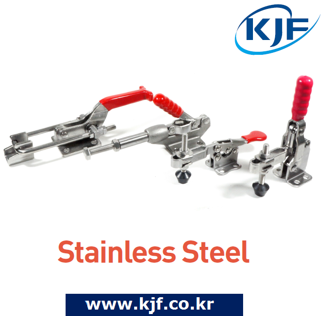 Made In South Korea KJF Toggle Clamp Stainless Steel Vertical Horizontal Push/Pull Latch Type