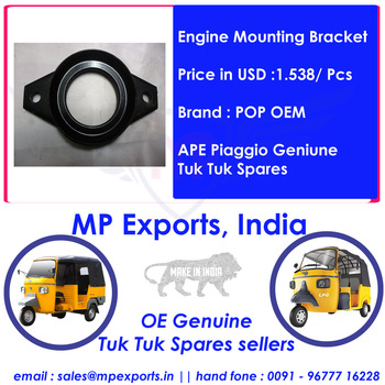 Ape Tuk Tuk Spares Engine Mounting Bracket