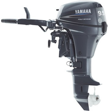 FREE SHIPPING FOR USED YAMAHA 9.9HP 4 STROKE OUTBOARD MOTOR