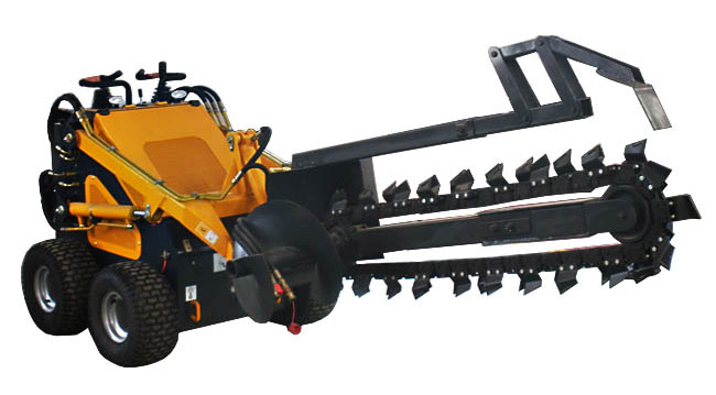 Farm machinery 23HP Micro trenching digging machine mini trencher digger for sale.jpg