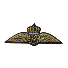Continental embroidered airlines wings flight pilot hat badge