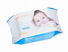High Quality Soft Skin Non Alcohol & Fragrance Free Baby Wipes 30's, OEM Baby Wipes