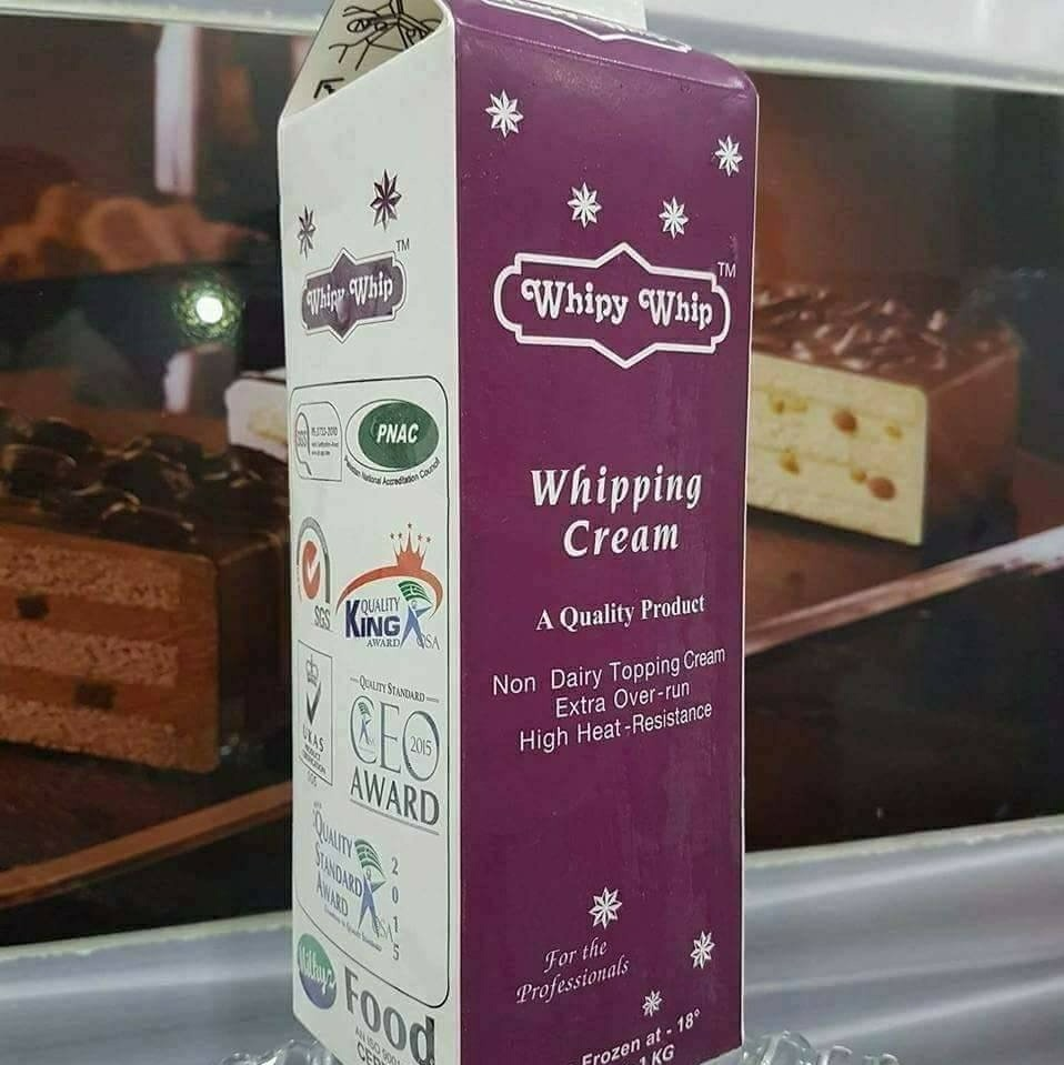 Whipy Whip Non Dairy Topping Cream