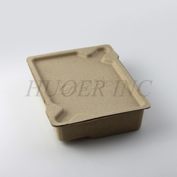 Molded Paper Pulp Recyclable Packaging Box
