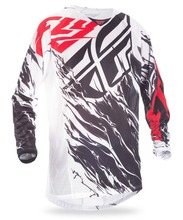 Atv Motocross Jersey Custom Racing MX Motocross Mesh Jersey (Black/White/Red) Fully Sublimation Jersey Cool Mash Design