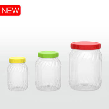 BPA FREE #PET JAR #No.274/275/276 #CONTAINER FOR FOODSTUFF