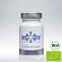 Colostrum, 60 Capsules, Organic, Freeze Dried, Made in Germany