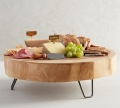 Thick Wood With Stand Wooden food serving board