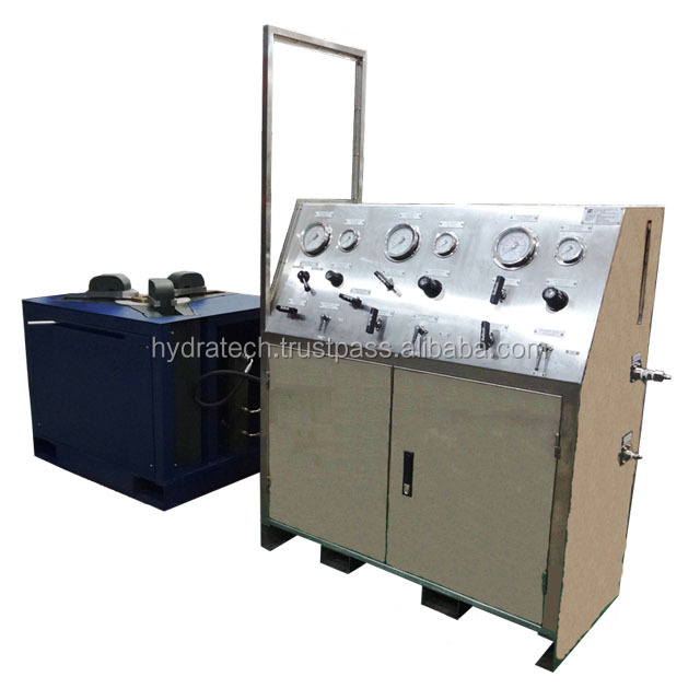 "Valve Test Bench, up to 10,000psi Hydro and 3,000psi Gas Testing, up to 10"" Class 600"