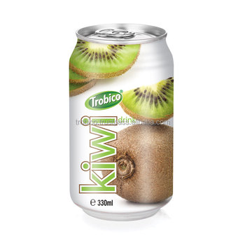 Best Soft Drink Kiwi Juice Drink in 330ml Alumium Can