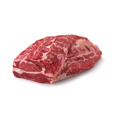 Beef Angus Chuck Roll Neck Off All Natural Never/Ever No Added Hormones No Added Antibiotics USDA Choice - NAMP 116A