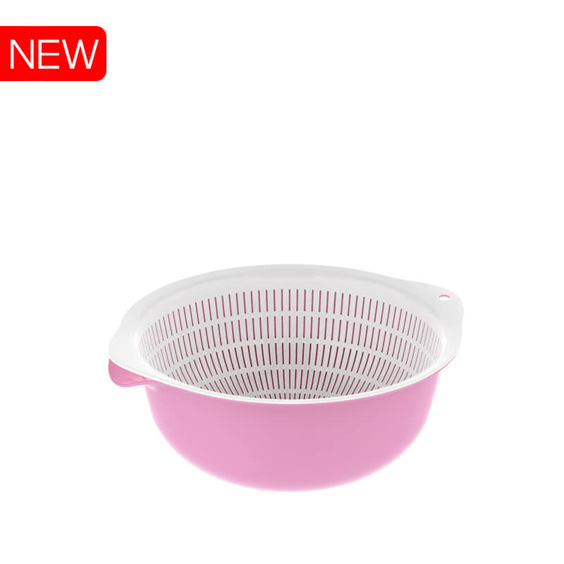 Plastic round basket basin 494 Duy Tan Plastics made in Vietnam export to Turkey