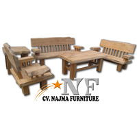 Teak Wood Sofa Set Living Room