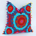 Wholesale pillow cases suzani embroidery cushion cover sofa decor