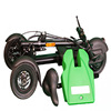 "tricycle made in malaysia, 250W, 36v ,10""rim green . electric tricycle"