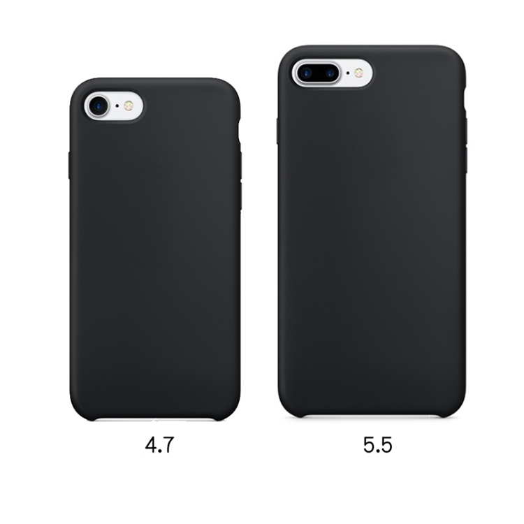 Luxury Silicone Cover Ultra-Thin Design Silicone Phone Case For Iphone