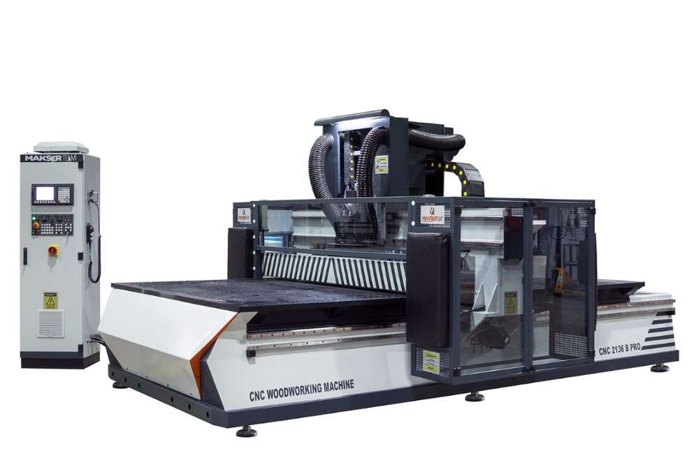 European Quality CNC2136 PRO with for cabinet, kitchen, badroom , furniture production / cnc router / cnc woodworking machine