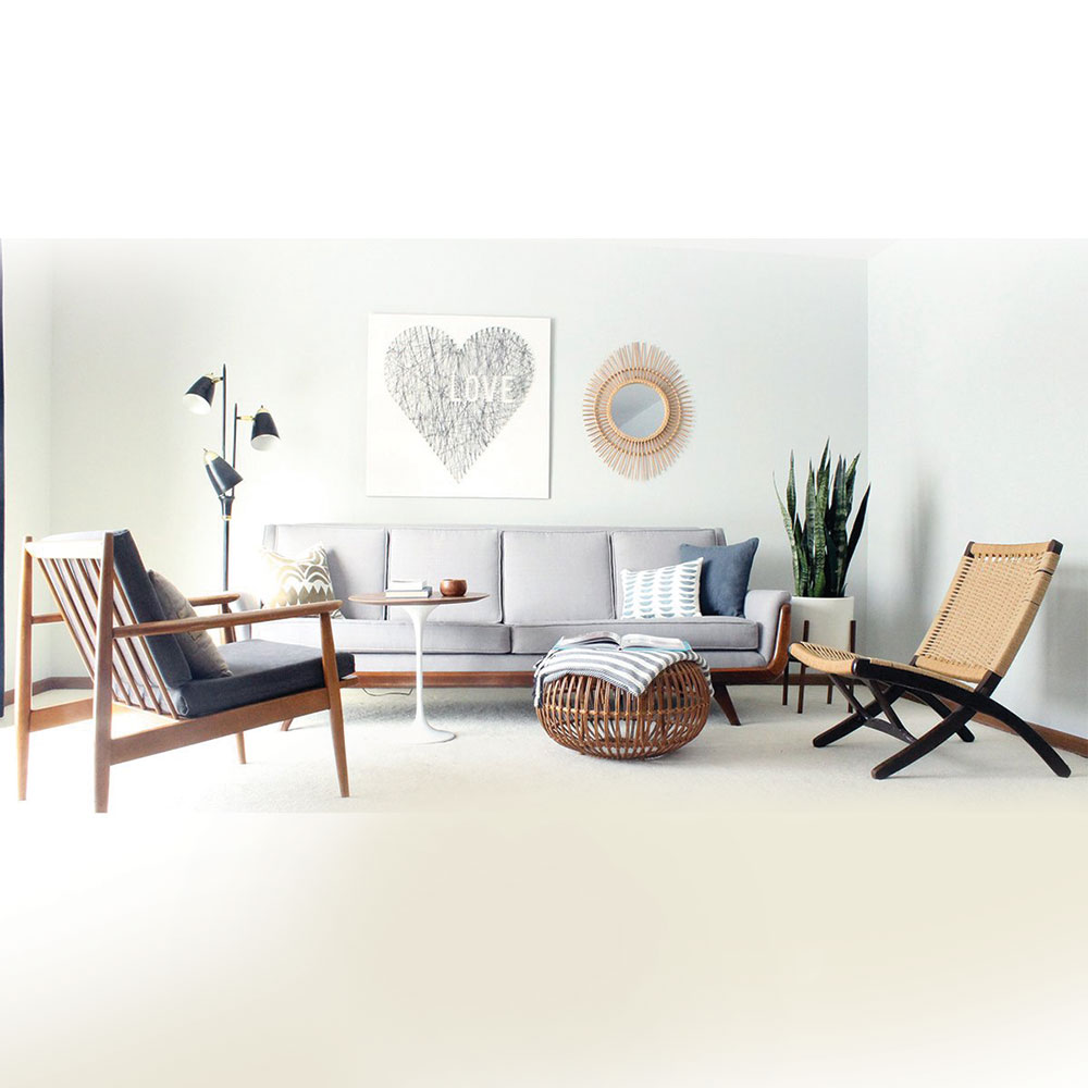 Eyecatching Minimalis Simple Style Living Room Sofa Set Home Furniture Made In Indonesia