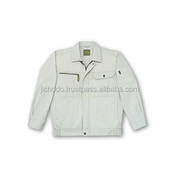 C70% E30% poplin / Blousons with long sleeves Made by Japan
