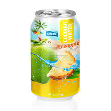 fresh not concentrate/adding Pineapple juice , pulp of coconut Vietnam fresh coconut water 330ml Alu can