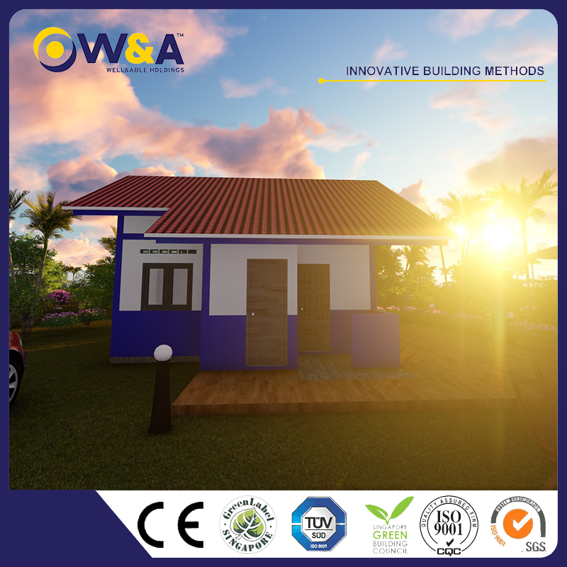 (WAS1003-40M)China Modern Modular Prefabricated House / Apartment House