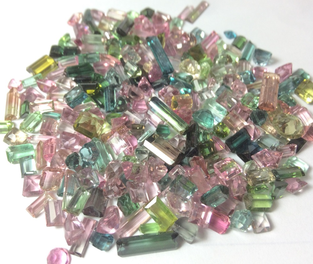 Cheap Tourmaline cut and Polished Wholesale Loose Gemstones