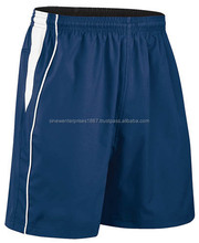 Royal Blue Soccer Short With White Stripe At Side