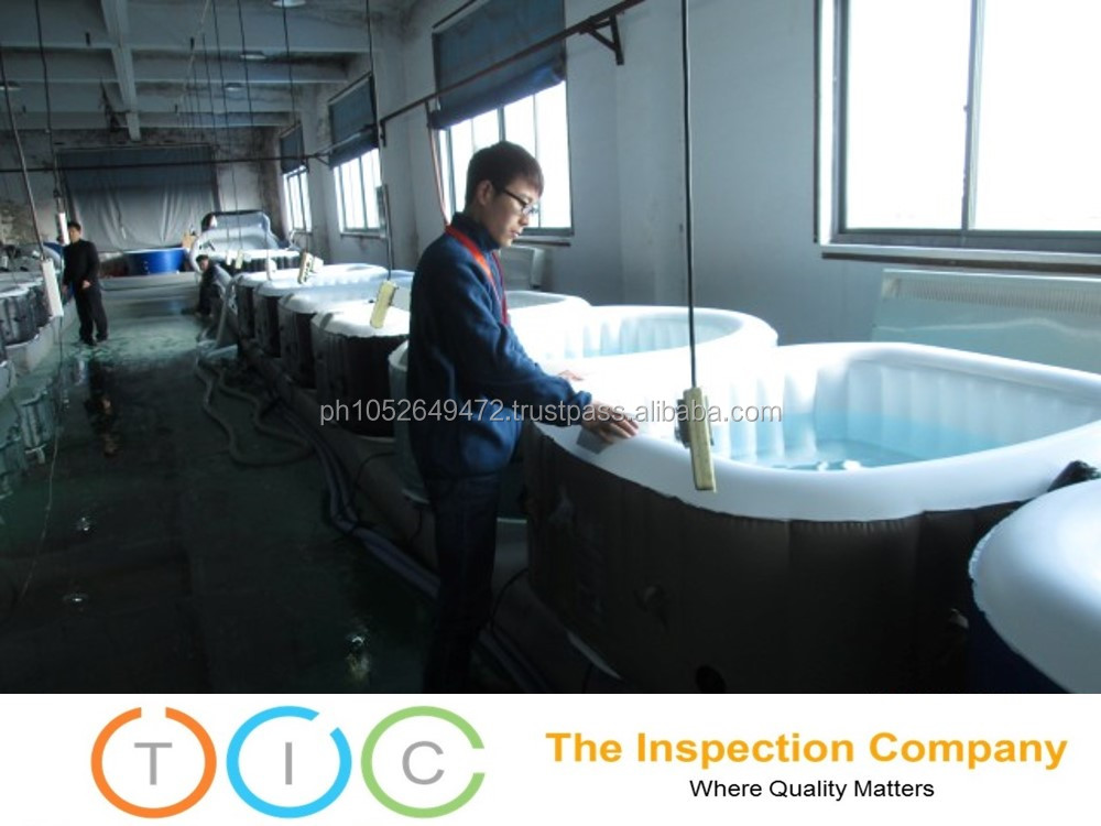 Pre Shipment Inspection service Inflatable Products in China